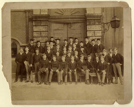 1888 College House Photograph