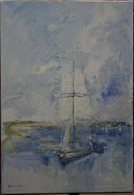 Sailing Boat by Barbara Robinson