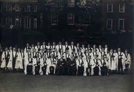 1937 College House Coronation Photograph
