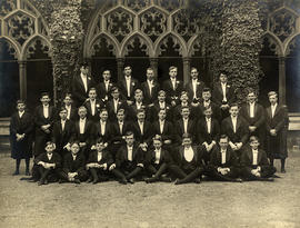 1937 College House Election Photograph