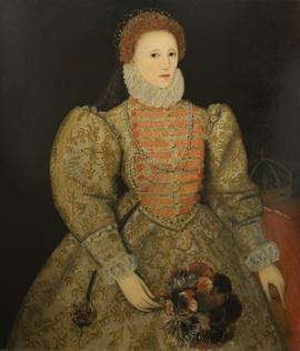 Queen Elizabeth I by Irene Begbie-Ellisen