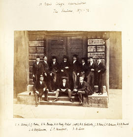 1872 College House Photograph