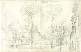 Dean's Yard looking east by Paul Sandby