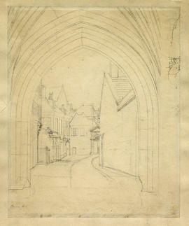 View from Liddell's Arch by Augustus Pugin