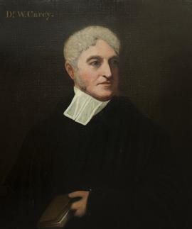 Dr William Carey by a member of the English School