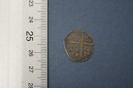 Reverse: Anglo-Gallic Edward the Black Prince hardi d'argent