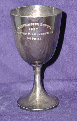 First in Quarter Mile Under 16 1927