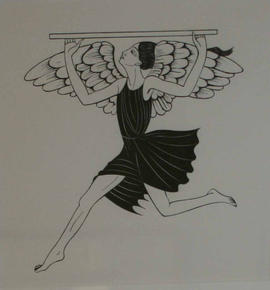 Angel by Eric Gill