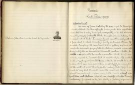 Journal 3: December 1908-April 1909