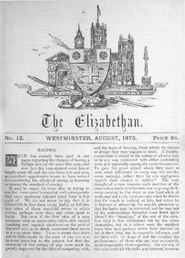 The Elizabethan, Vol. 1, No. 12
