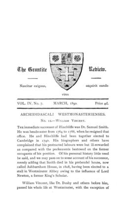 The Grantite Review Vol. IV No. 7