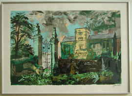 Canons Ashby by John Piper