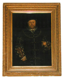 Henry VIII after Hans Holbein by Irene Begbie Ellissen