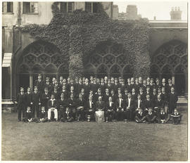 1929 Ashburnham House Play Term Photograph