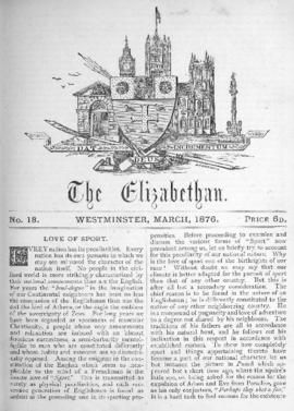 The Elizabethan, Vol. 1, No. 18