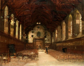 School from the South by F.G. Worlock (OW 1901-1905)