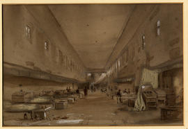College Dormitory by Charles Walter Radclyffe