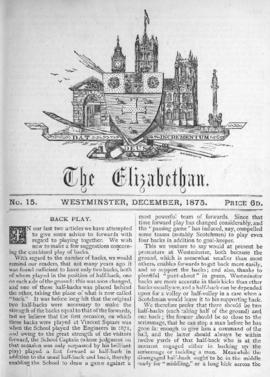 The Elizabethan, Vol. 1, No. 15