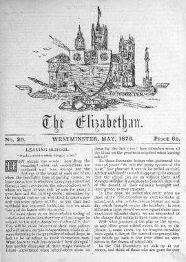 The Elizabethan, Vol. 1, No. 20