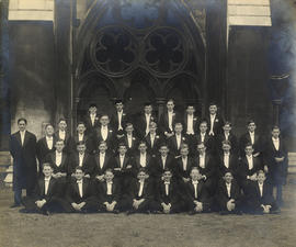 1938 College House Photograph