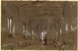 College Hall by Charles Walter Radclyffe