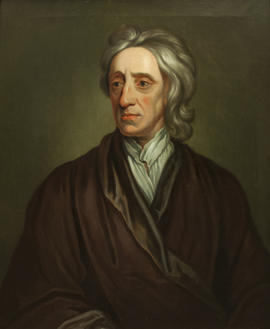 Portrait of John Locke after Godfrey Kneller