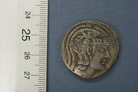 Obverse: Athens tetradrachm - cast copy