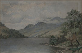Ben Lawers and Loch Tay by M.M. Grierson