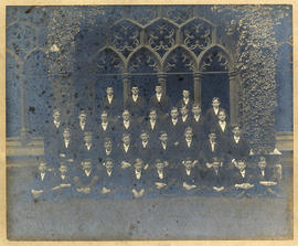 1915 College House Election Photograph