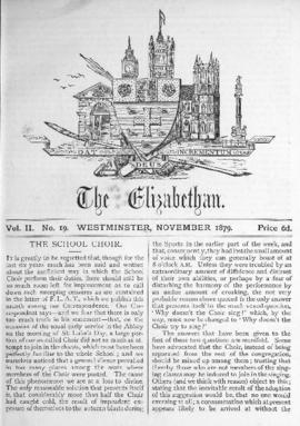 The Elizabethan, Vol. 2, No. 19