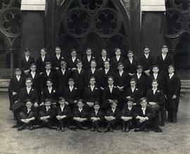 1934 College House Cricket Photograph