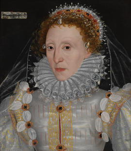 Queen Elizabeth I by a member of the English School