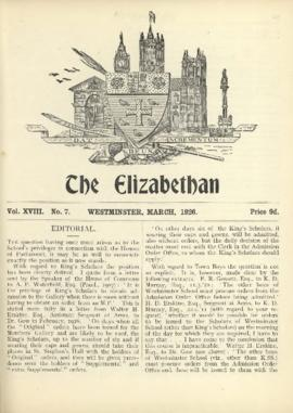 The Elizabethan, Vol. 18, No. 7
