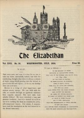 The Elizabethan, Vol. 17, No. 16