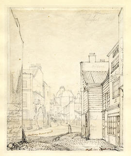 View of Great College Street by William Capon
