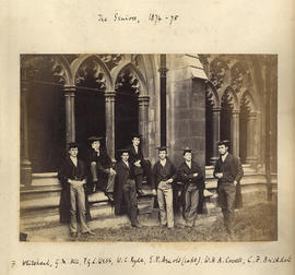 1875 College House Third Election Photograph