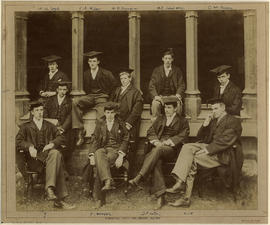 1895 College House Seniors Photograph