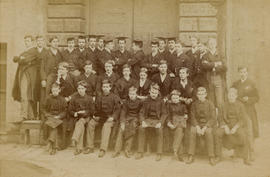1884 College House Photograph