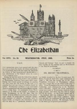 The Elizabethan, Vol. 17, No. 10