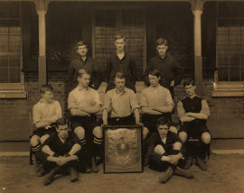 1903-4 Rigaud's Football XI Photograph