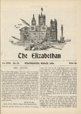 The Elizabethan, Vol. 17, No. 14