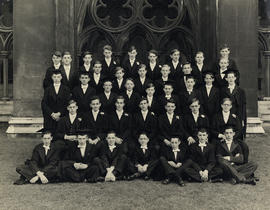 1947-1948 College House Photograph