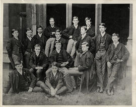 1887 College House Third Election Photograph