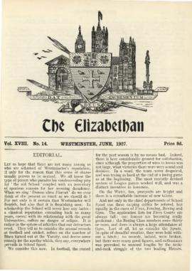 The Elizabethan, Vol. 18, No. 14