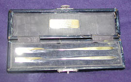 Pair of Victorian silver presentation rowing sculls