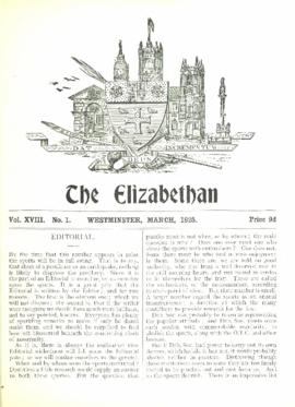 The Elizabethan, Vol. 18, No. 1