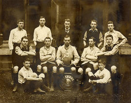 1896-7 Rigaud's Football XI Photograph