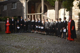 Induction of the Queen's Scholars