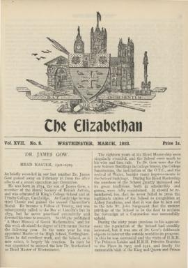 The Elizabethan, Vol. 17, No. 8