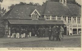 """Westminsters"" Patronize Charterhouse Tuck Shop"
